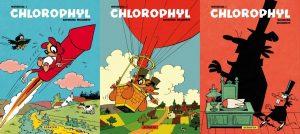 Chlorophyl glorieus gecompleteerd