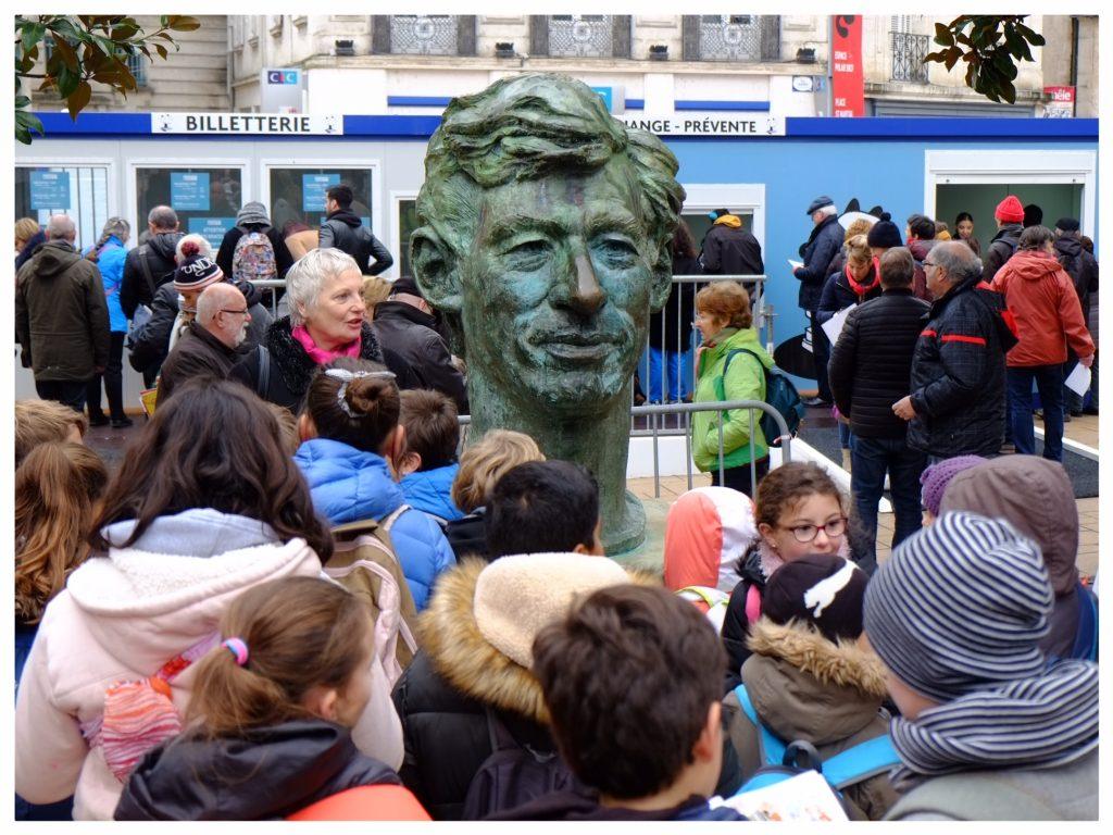 Standbeeld Hergé