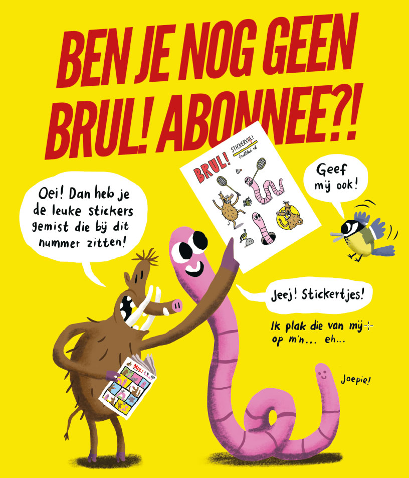 Brul-advertentie