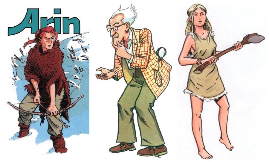 Arin, Ann, Prof. Van Gniffelen