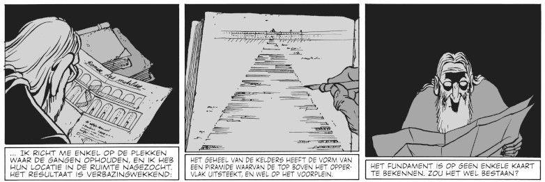 De krochten van het Vourlé - De piramide en de kern