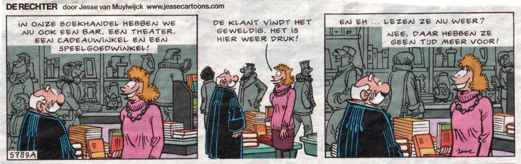 De Rechter door Jesse van Muylwijck