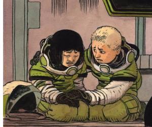 Jeff Lemire brengt een ruimteschip tot leven in Sentient