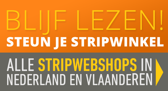 Alle strip webshops van Nederland en Vlaanderen
