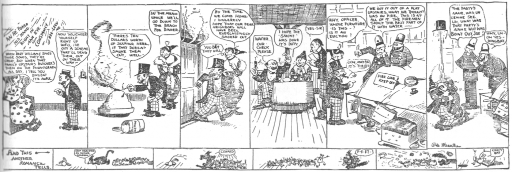 "George Herriman, ""The Family Upstairs"", 13 augustus 1910."